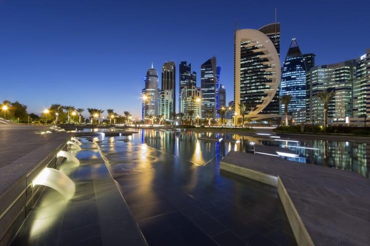 cityscape, doha, qatar
