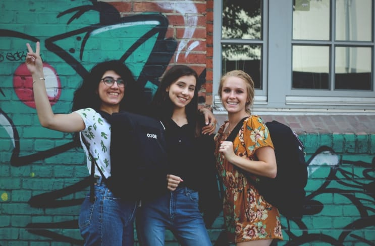CODE - Girls in STEM. Girls who code.
