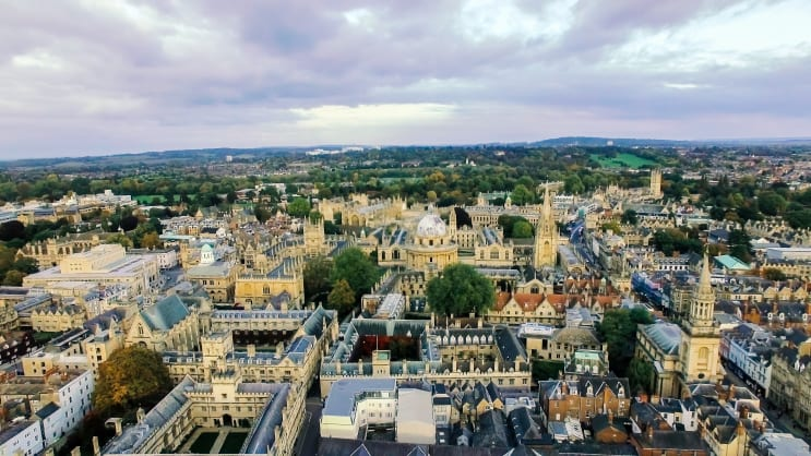 University of Oxford - colleges