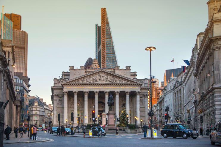 The City of London - Stock Exchange
