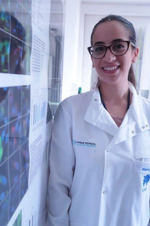 Cyprus School of Molecular Medicine (CSMM) student