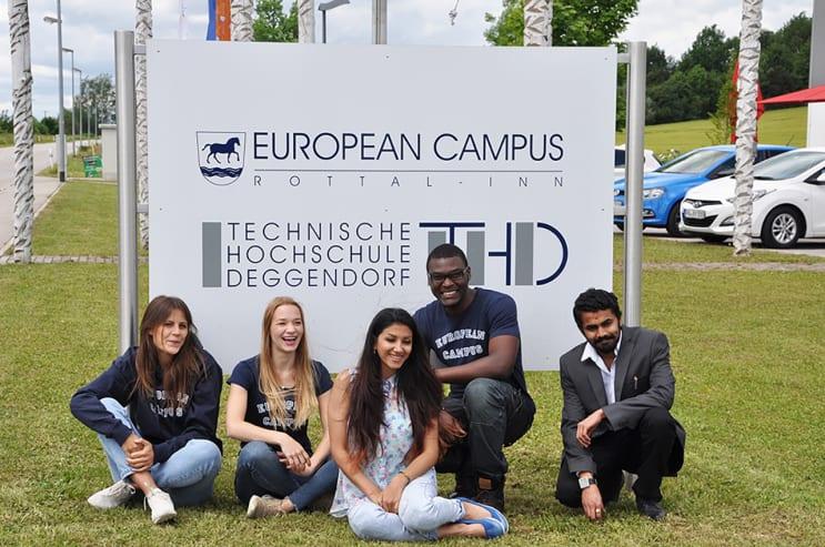 Deggendorf Institute of Technology students