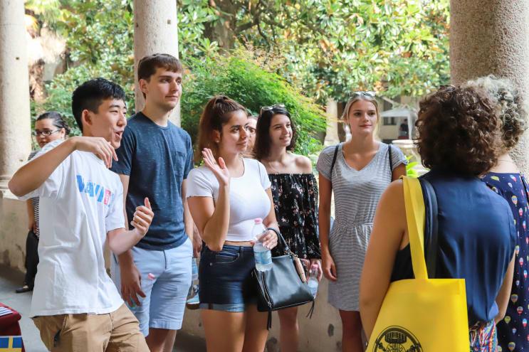 University of Pavia students