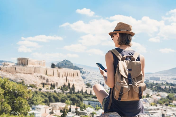 Gap year in Athens, Greece
