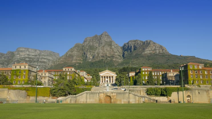 University of Cape Town, South Africa. Sustainability.