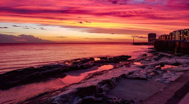 Uruguay sunrise