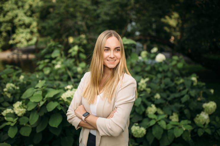 International student in Valkeakoski, Finland