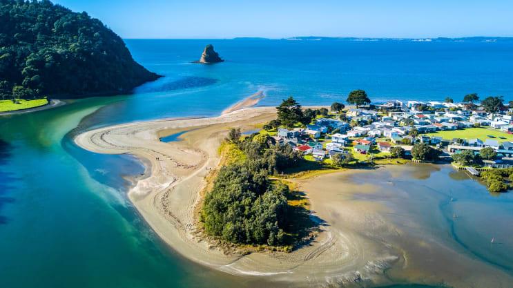 Beach in Auckland, New Zealand