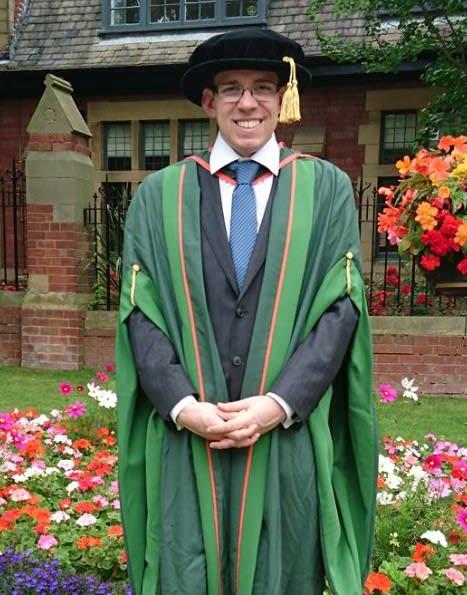 PhD student graduation