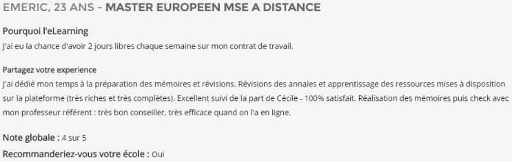 MSE recenzie