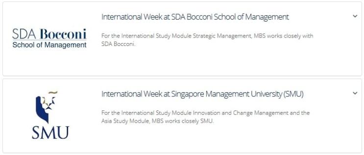 Semanas Internacionales