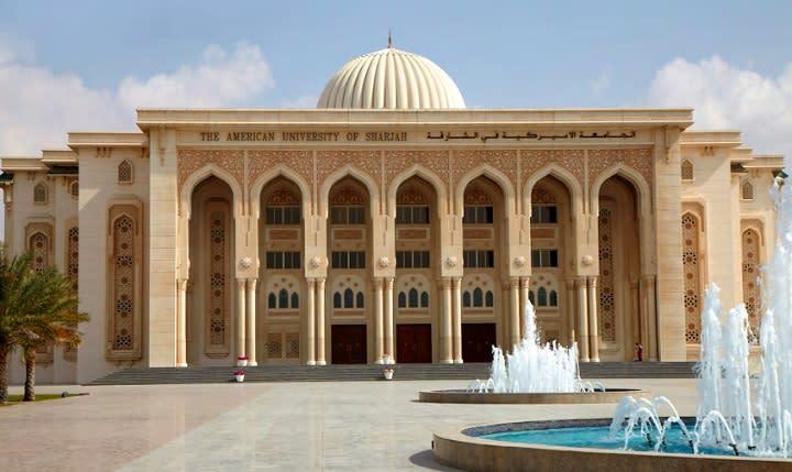 American University of Sharjah, Sharjah, Объединенные Арабские ...