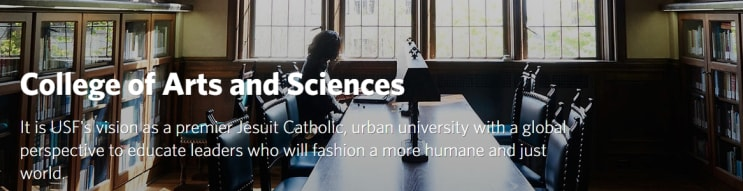 University Of San Francisco College Of Arts Sciences In Usa Master Degrees
