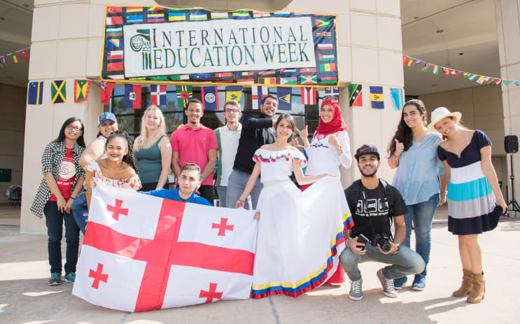 International Education Week - Food and Dance Festival 2017