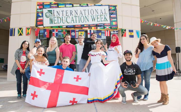 International Education Week - Food and Dance Festival 2017
